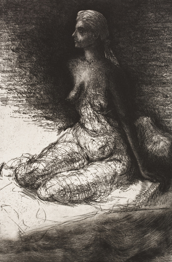 Paul Hawdon etching